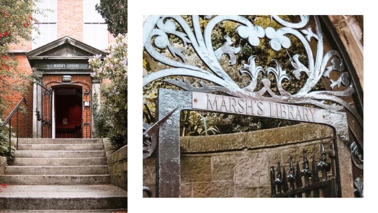 marsh's library dublino irlanda