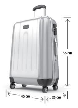misure bagaglio a mano finnair