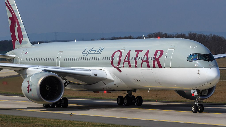 qatar airways velivolo