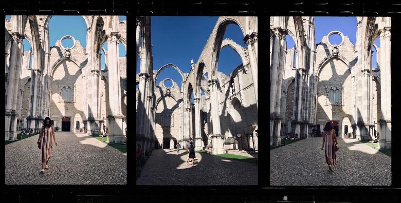 visitare Lisbona: Convento do Carmo