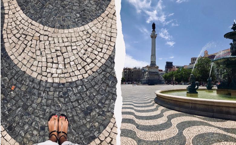 Visitare Lisbona: piazza Rossio