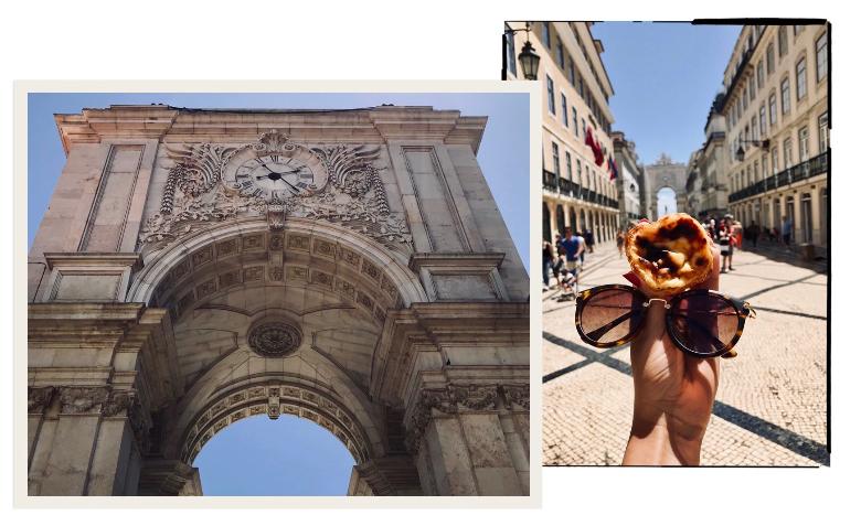 Visitare Lisbona: rua Augusta