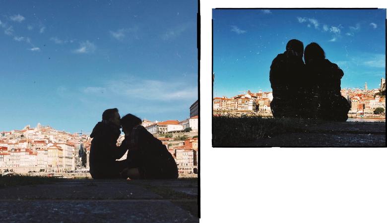 Porto, foto coppia