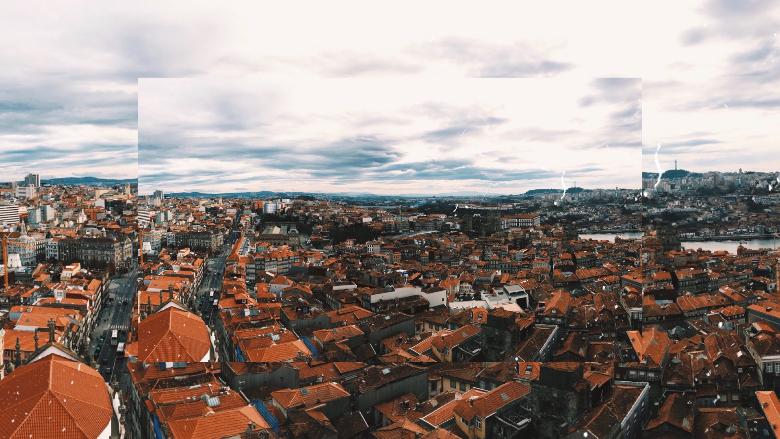 Porto, vista dall'alto