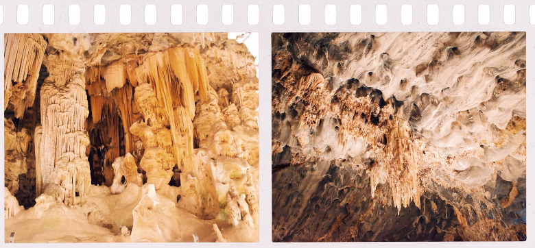 Cango caves, sculture di roccia