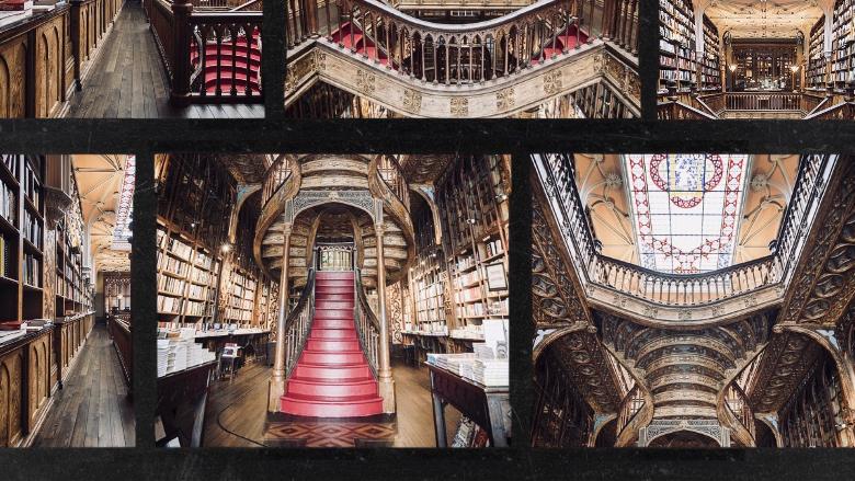 Cosa vedere a Porto: livraria Lello