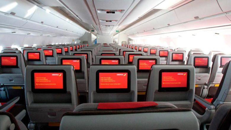 interno aereo iberia