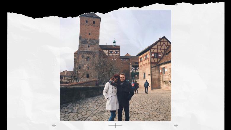 Castello di Norimberga e noi