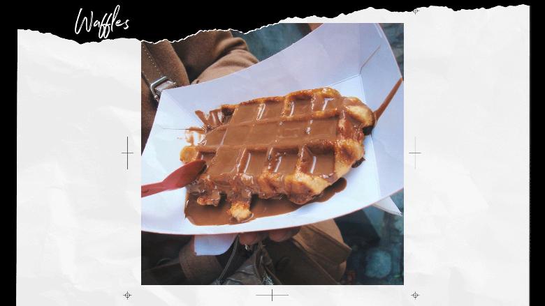 Cosa mangiare a Bruxelles: waffle