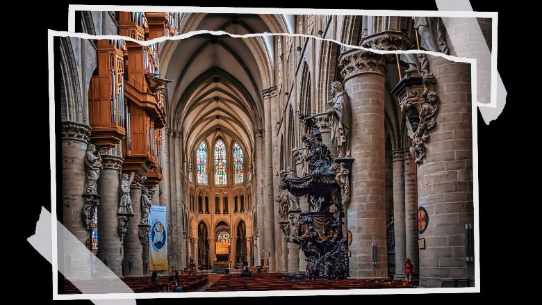 Cosa vedere a Bruxelles: Cattedrale
