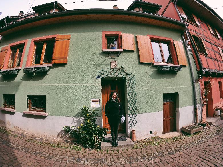 edifici tipici città eguisheim