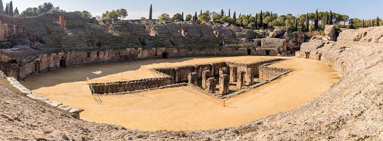 italica anfiteatro