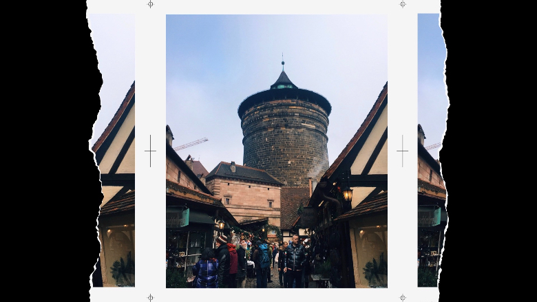 Torretta delle mura di Norimberga