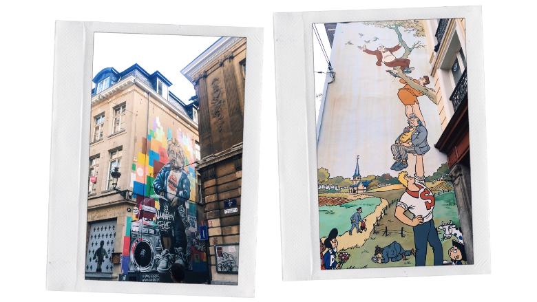 visitare bruxelles murales