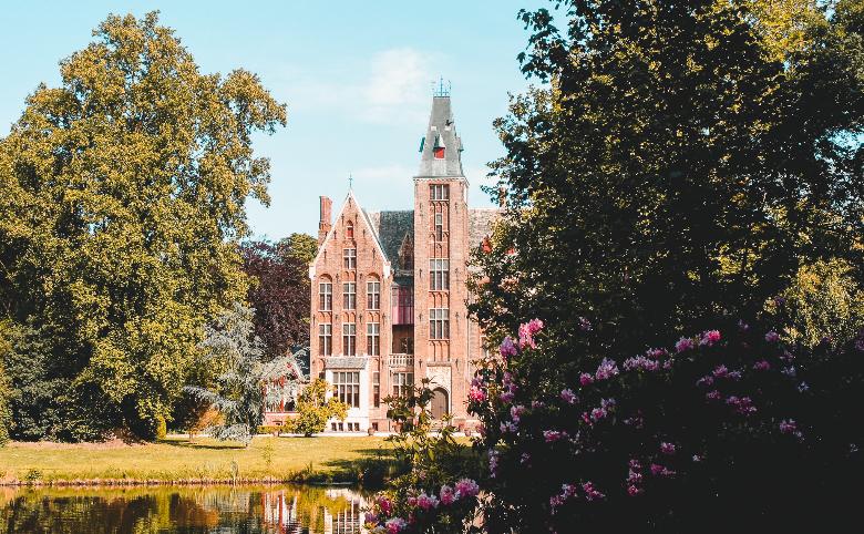 castello Van Loppem a Bruges