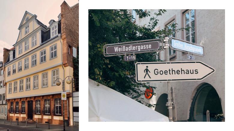 Visitare Francoforte: Goethehaus