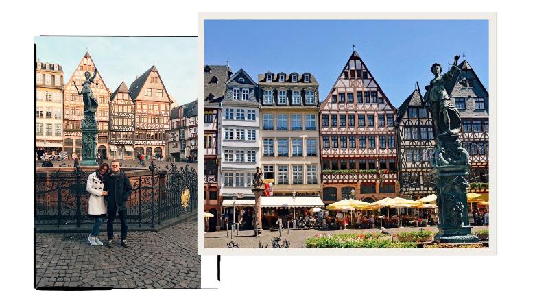 Visitare Francoforte: Romerberg