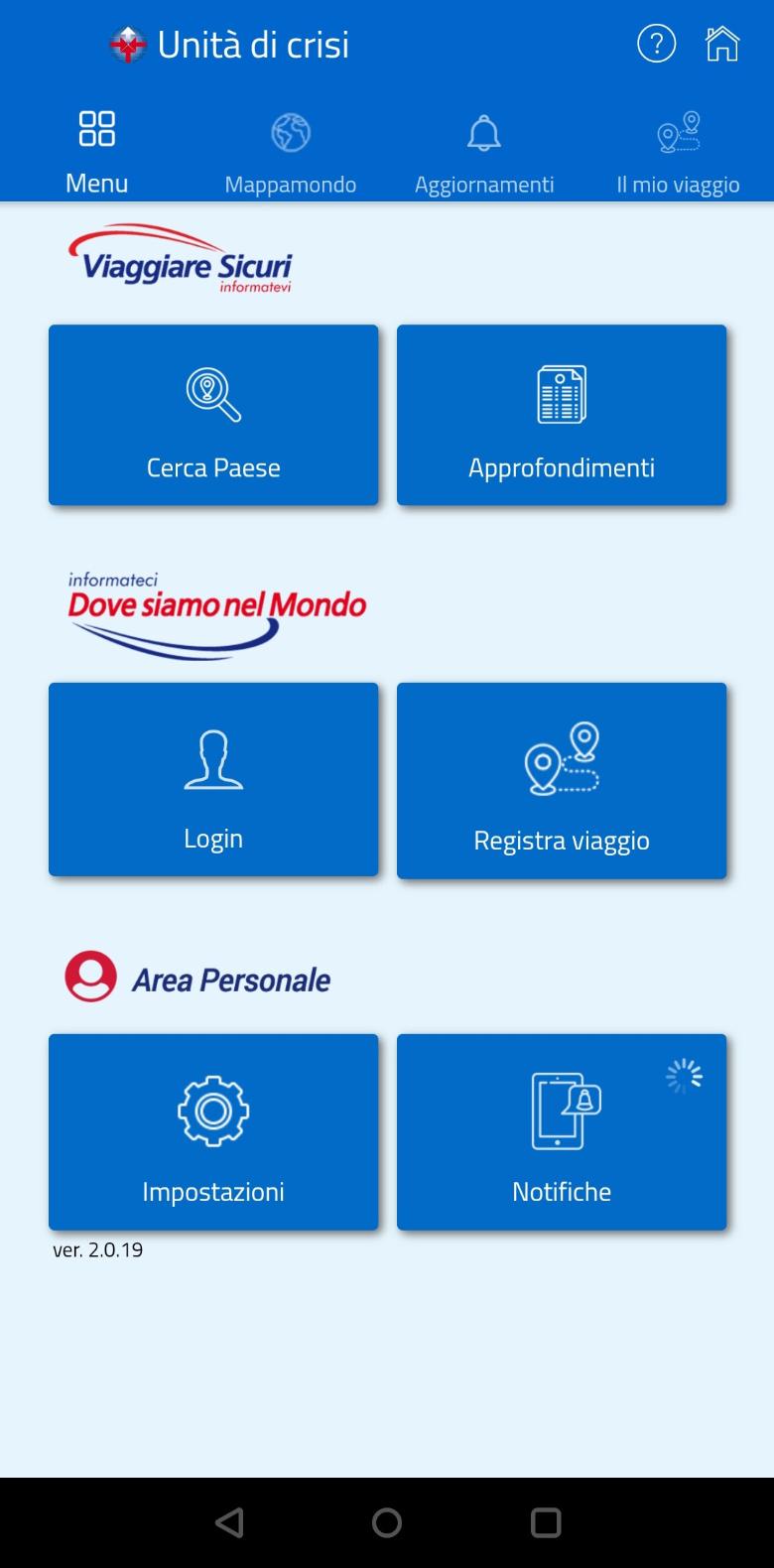 farnesina app