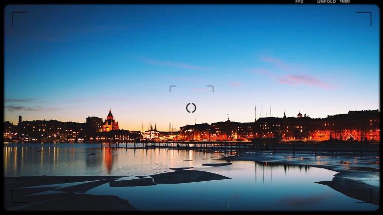 panoramica su Helsinki