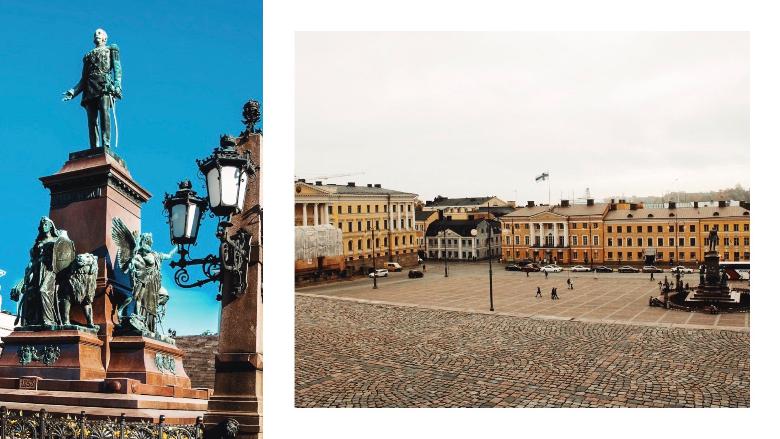 Piazza del Senato, Finlandia