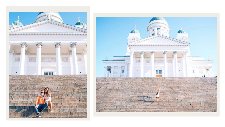 Visitare Helsinki e la piazza del senato