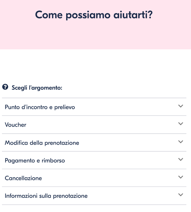 assistenza get your guide