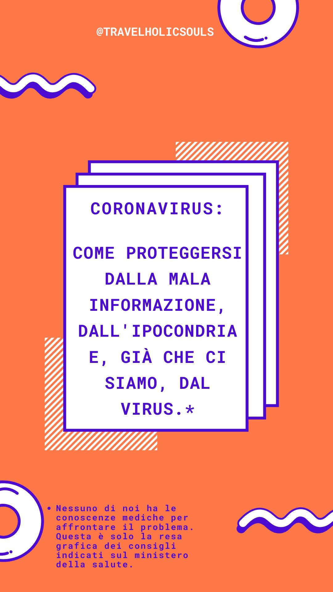 come proteggersi dalla mala-informazioni: coronavirus
