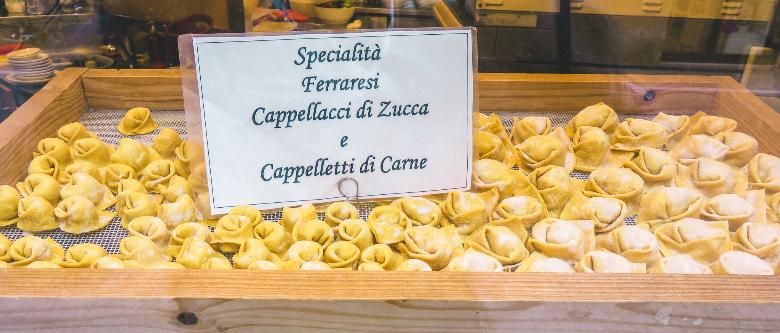 cappellacci cucina tipica Ferrara