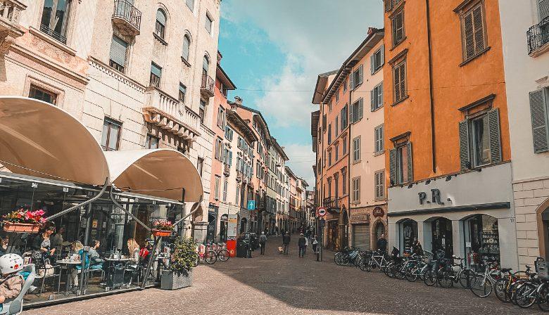 Bergamo bassa: via dello shopping