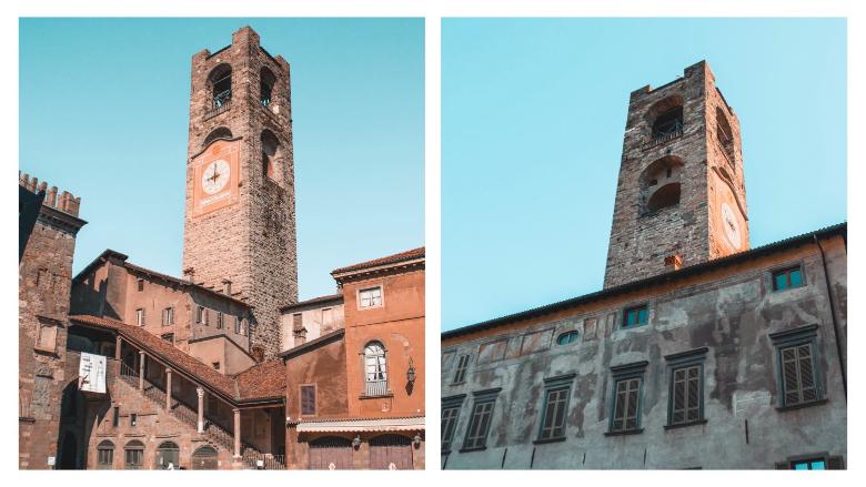 Bergamo: palazzo del Podestà