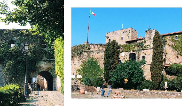 castello san giusto a Trieste