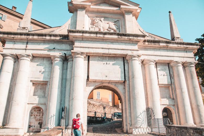 Cosa vedere a Bergamo: Porta San Giacomo
