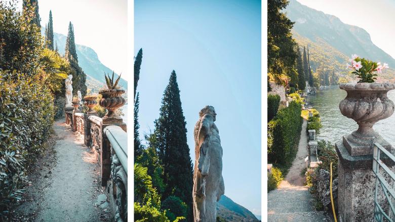 dettagli giardino villa monastero