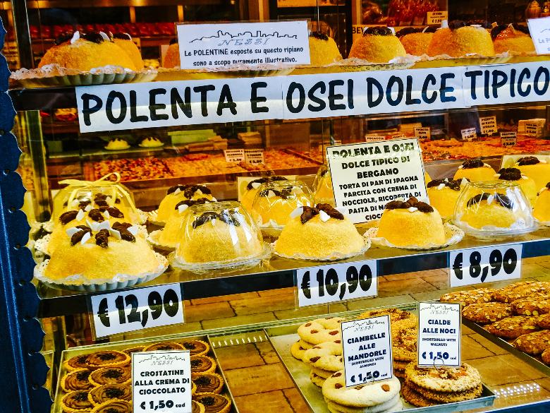 dolce Bergamo: polenta e osei