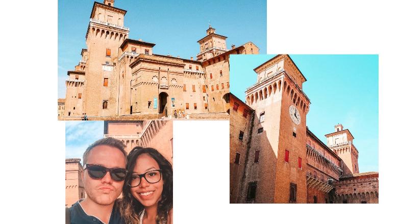 Castello ducale degli Estensi a Ferrara