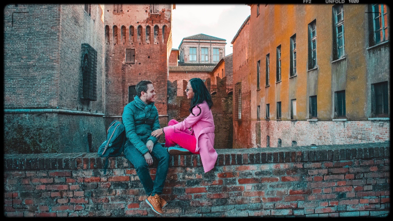 Castello di Mantova visto da fuori