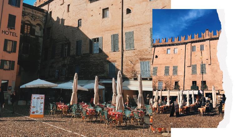 Piazza Sordello: cosa vedere a Mantova