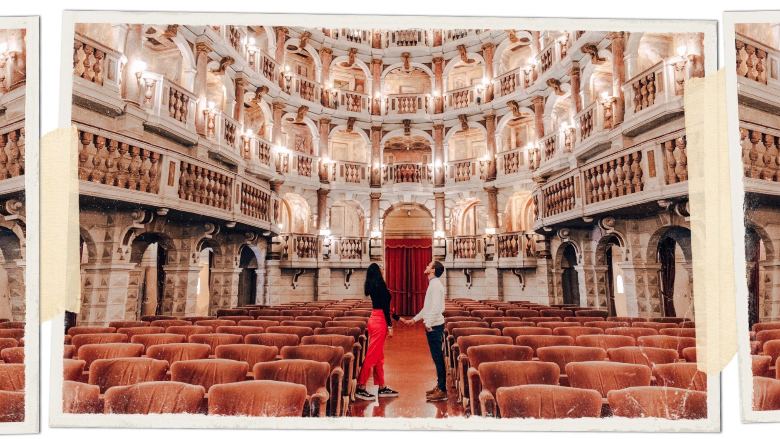 teatro Biabiena Mantova, coppia