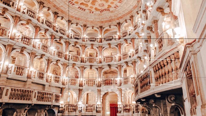 Visitare Mantova: Teatro Biabiena