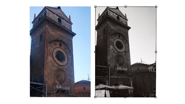 torre dell'orologio Mantova