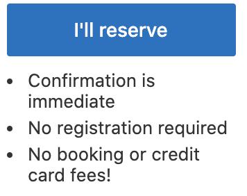reserve button booking