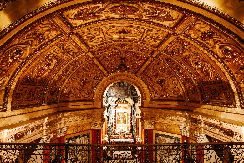 Chiesa della consolata a Torino