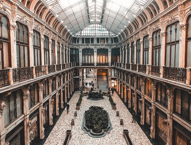 gallerie coperte a Torino