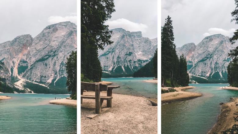 percorsi attorno braies lago