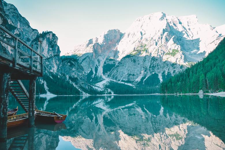 riflessi lago
