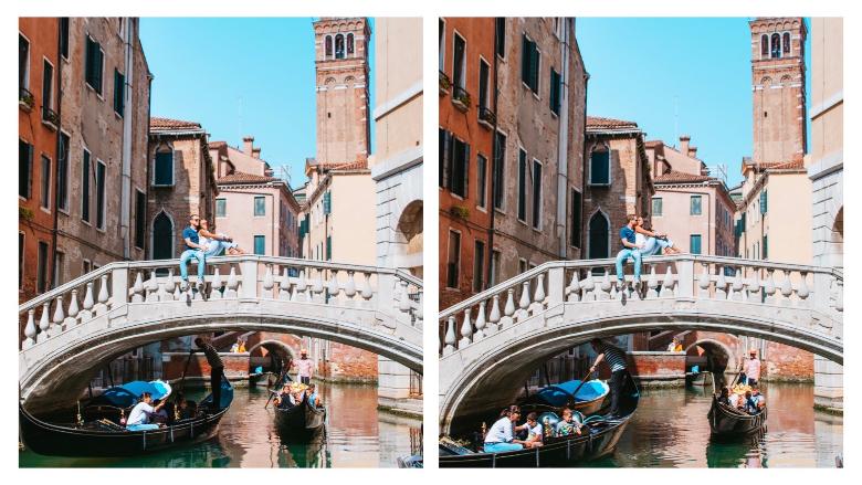 Cliché Venezia: gondole e ponti