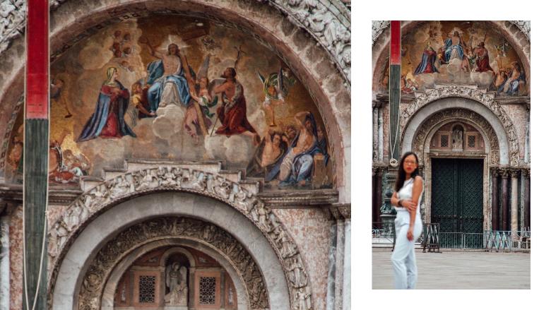 dettaglio basilica di San Marco