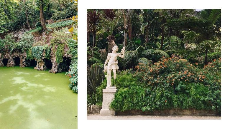 particolari di Quinta de Regaleira