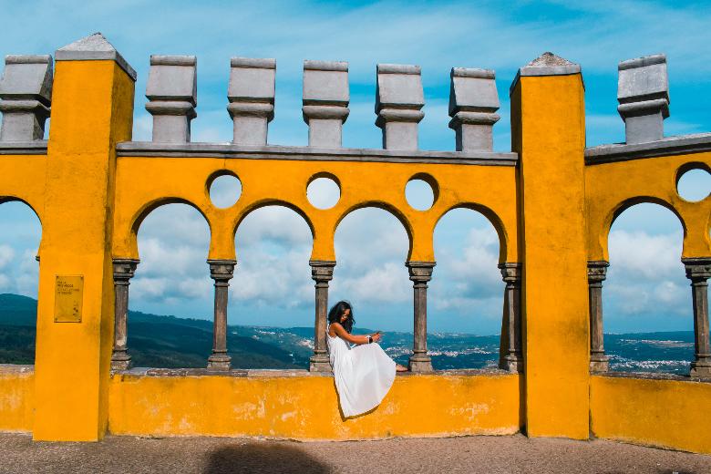 vista su Sintra
