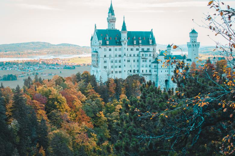 castello di neuschwanstein: vista da Pollack Brucke